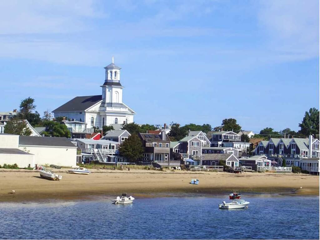Harbor Beach in Provincetown - Cape Cod Beachfront accommodations on Cape Cod