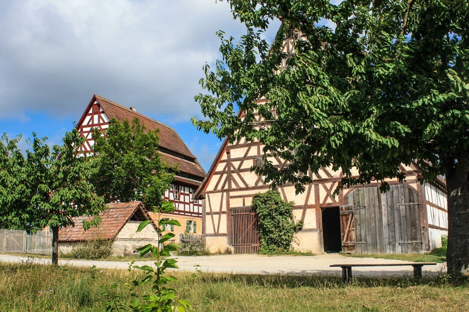 Typical - half-timbered houses