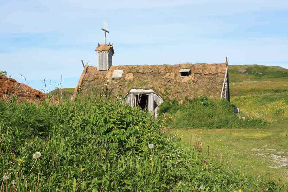 Church of the Vikings at L'Anse aux Meadows Viking Site