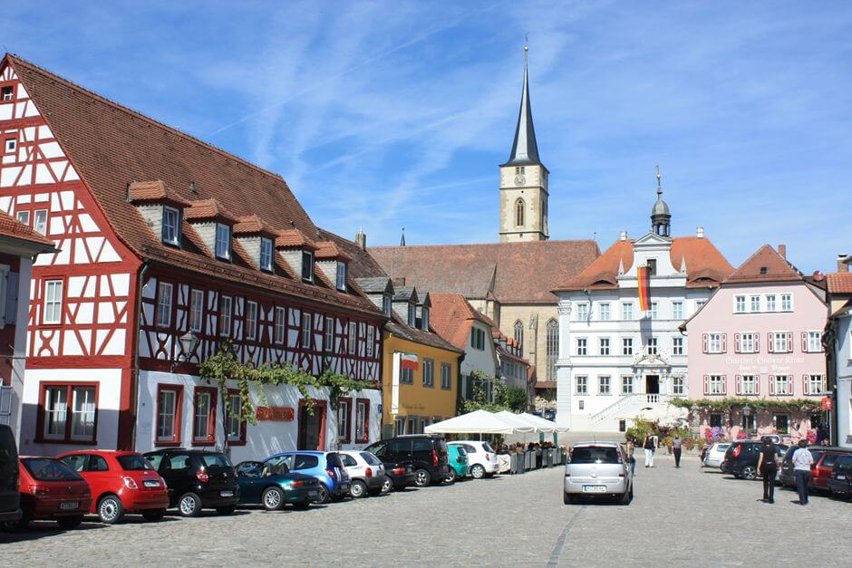Franconian Wine Country: In the center of Iphofen