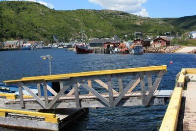 On the coast of the Avalon Peninsula on Newfoundland