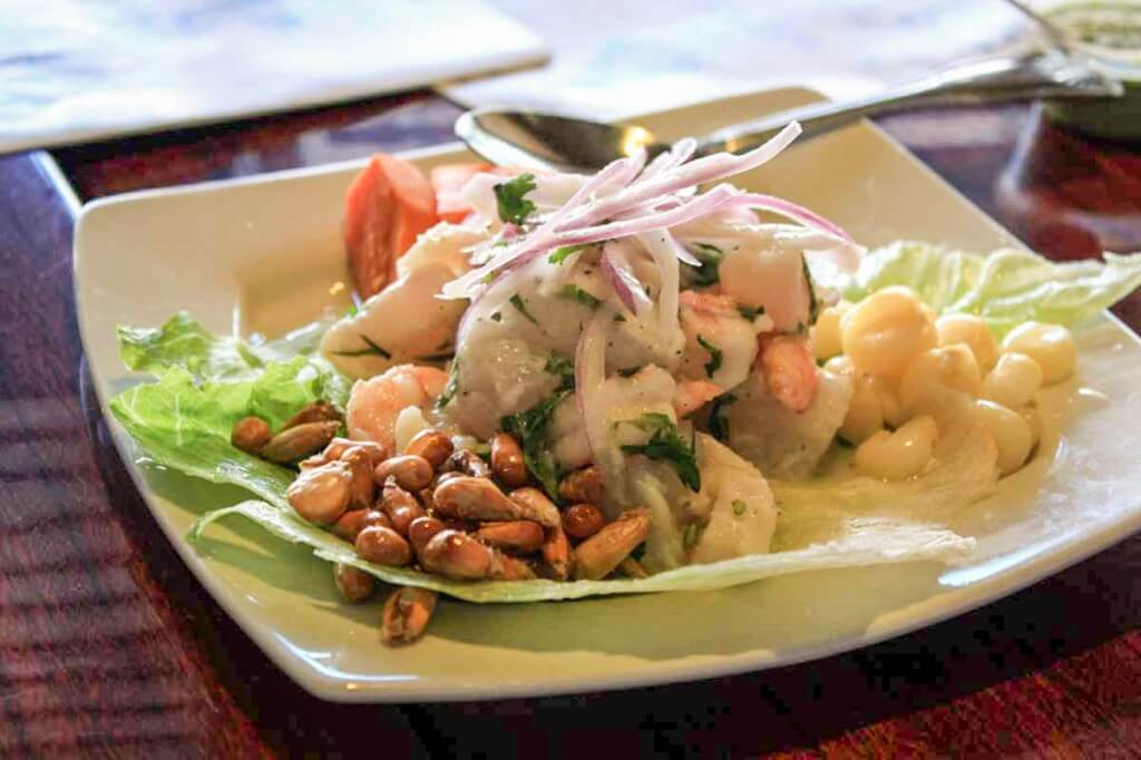 Peruvian style Ceviche on our Miami Beach Food Tour © Copyright Monika Fuchs, TravelWorldOnline