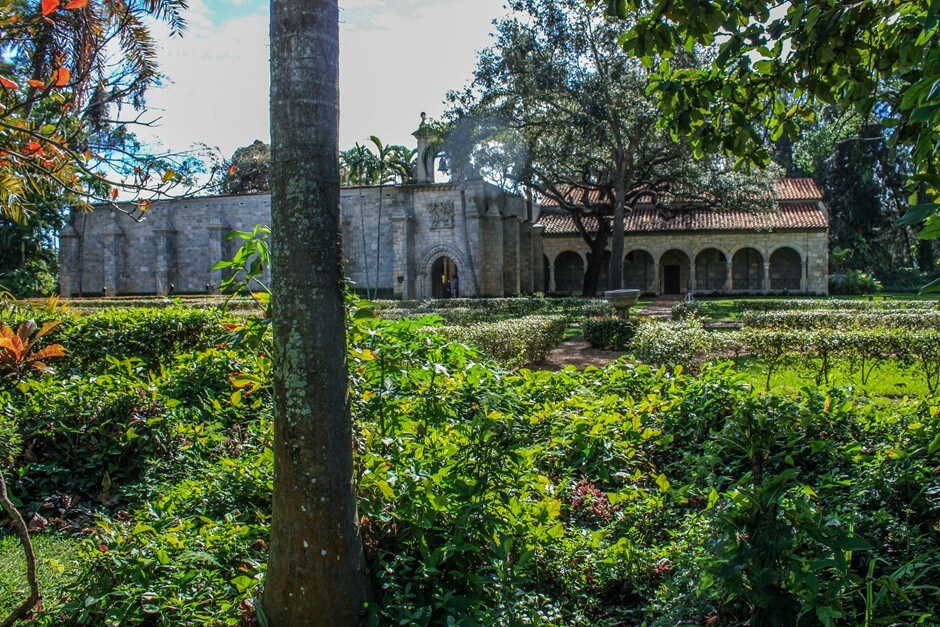 Spanish monastery in Miami Beach