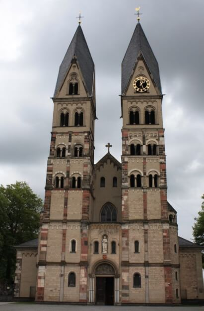 Basilika St. Kastor Koblenz Attraktionen - Koblenz Sehenswürdigkeiten Rundgang