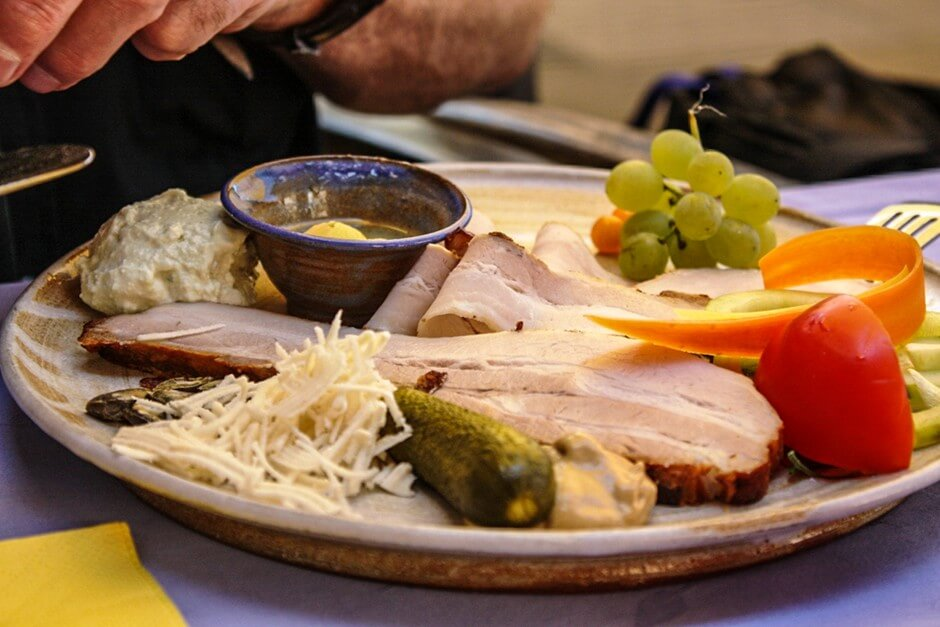 Cold plate - South Styrian wine route