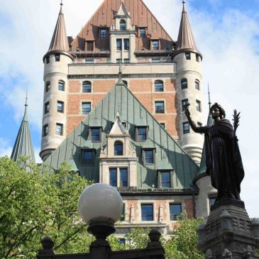 Das Chateau Frontenac in Quebec City