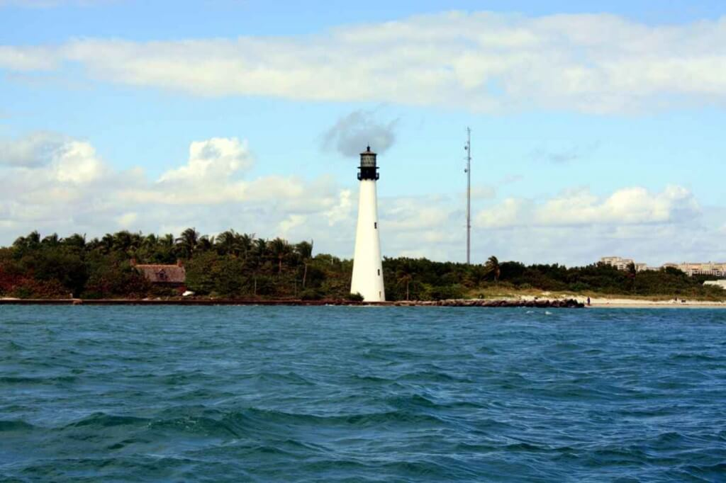 Das Key Biscayne Lighthouse © Copyright Monika Fuchs, TravelWorldOnline