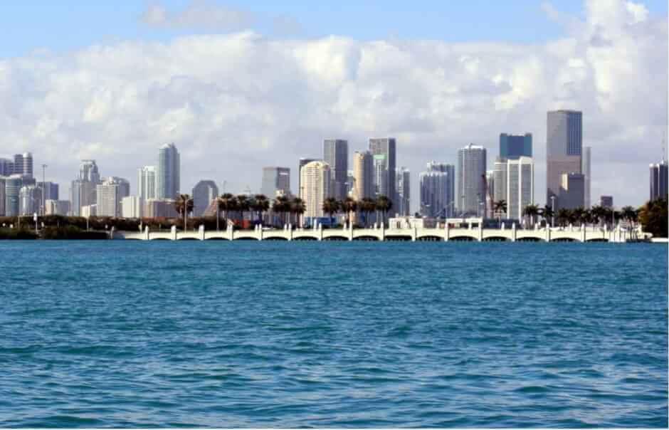 Sehenswürdigkeiten von Miami und Miami Beach - Die Skyline