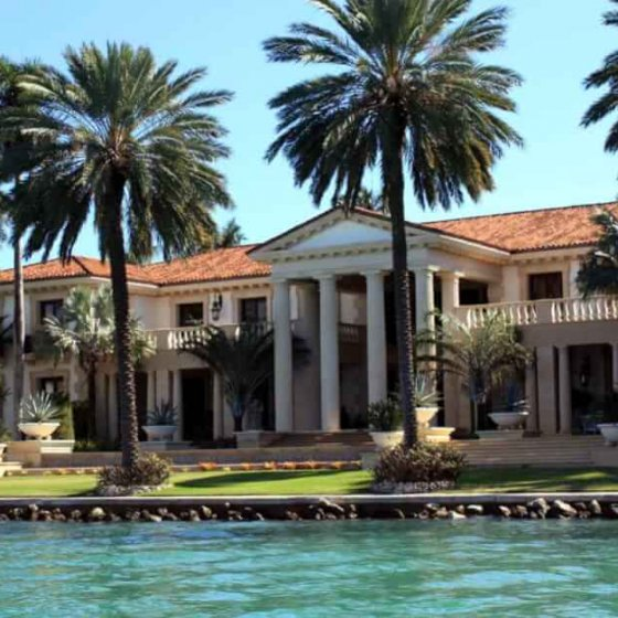 This villa belongs to a successful dermatologist from Miami Beach. © Copyright Monika Fuchs, TravelWorldOnline