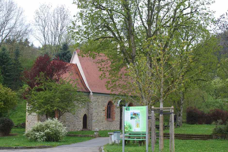 The St. Anna Chapel in Mulfingen