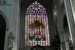Buntglasfenster in der Sint Rombouts Kathedrale