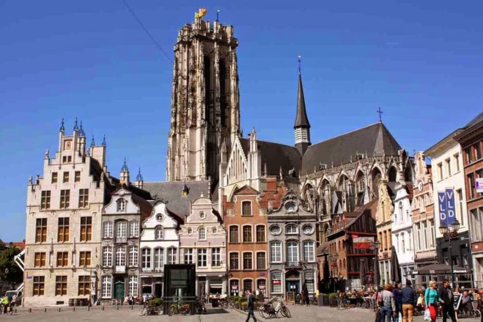 Sint Rombouts Cathedral UNESCO World Heritage in Mechelen