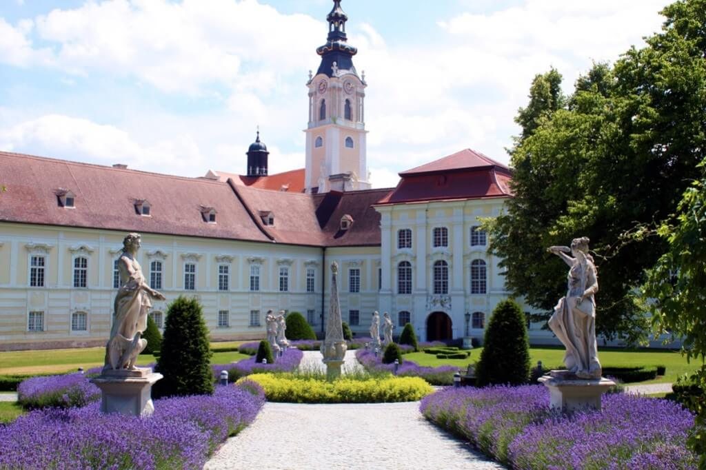 Kloster Altenburg - at our monastery garden route in Lower Austria