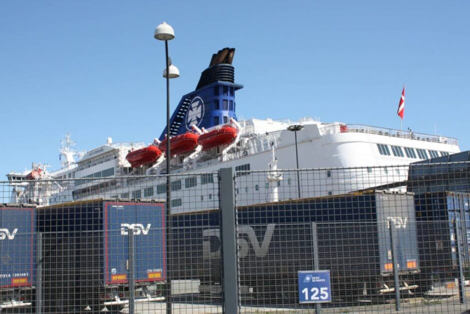 Parking by DFDS Seaways