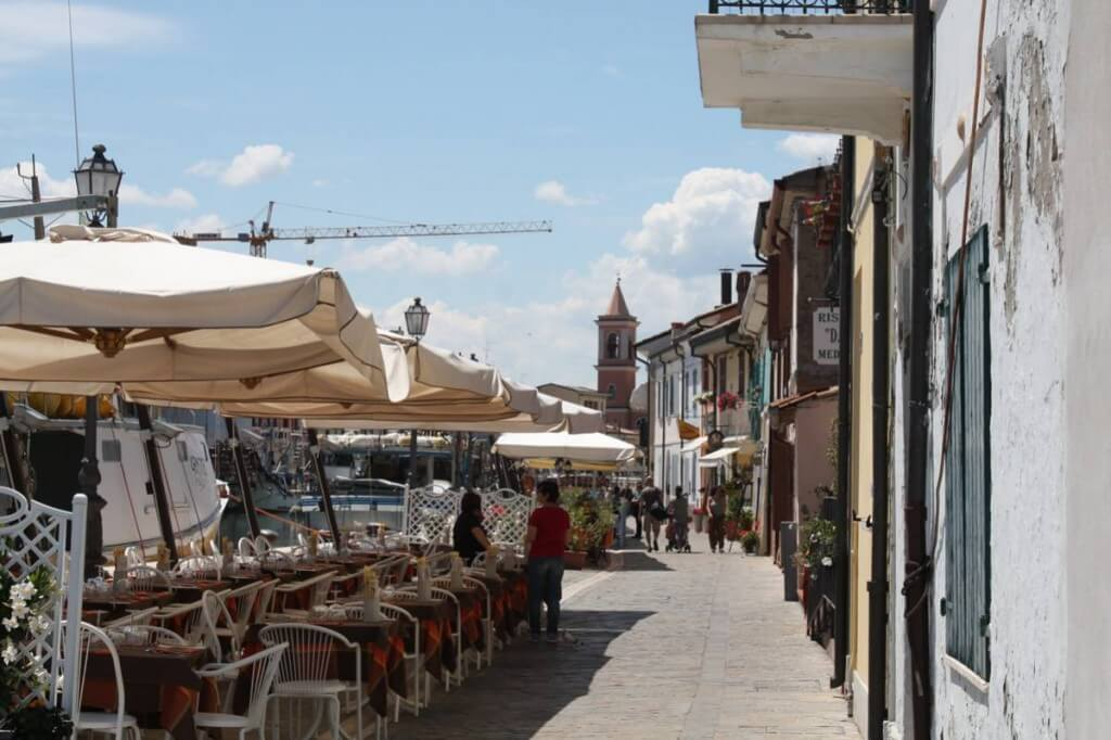 Was kann man in Cesenatico tun ? Restaurants in Cesenatico