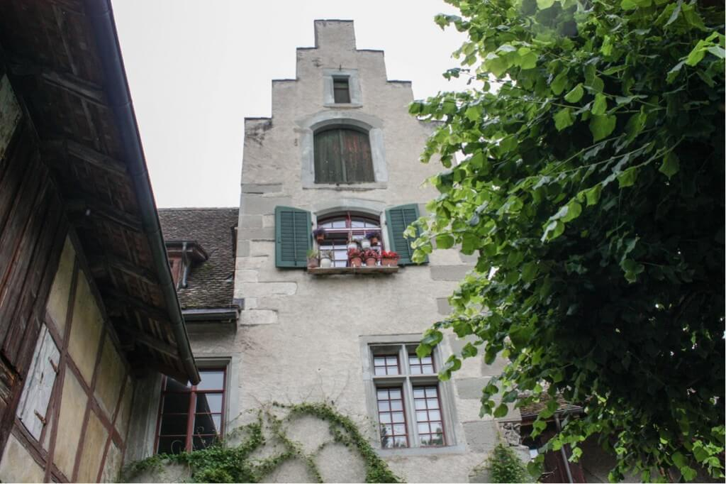Romantisches Kloster