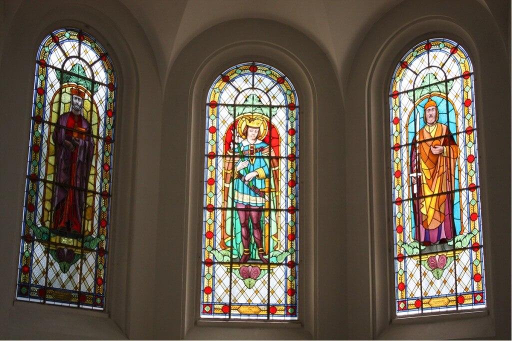 Window in the sanctuary