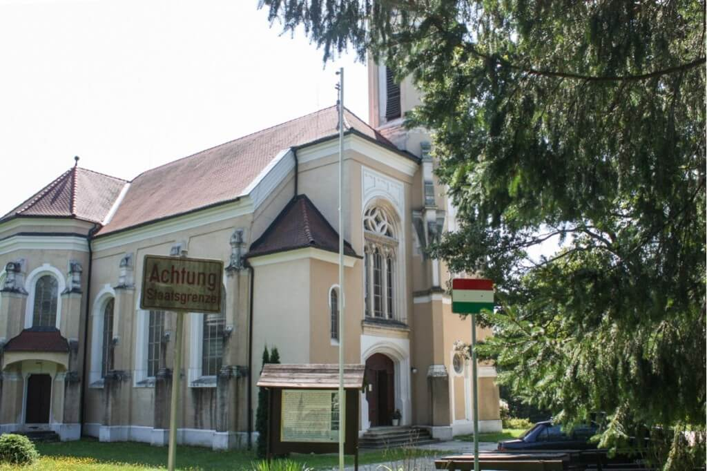 The church on the state border