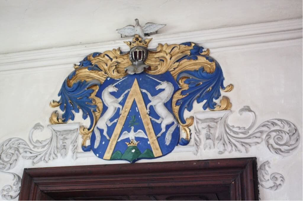 The coat of arms of the Almasy family