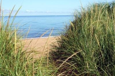 Sandstrand bei Inverness am Ceilidh Trail in Cape Breton Island