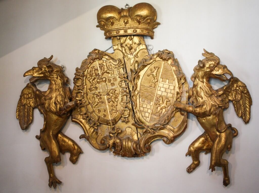The coat of arms of the Esterházy