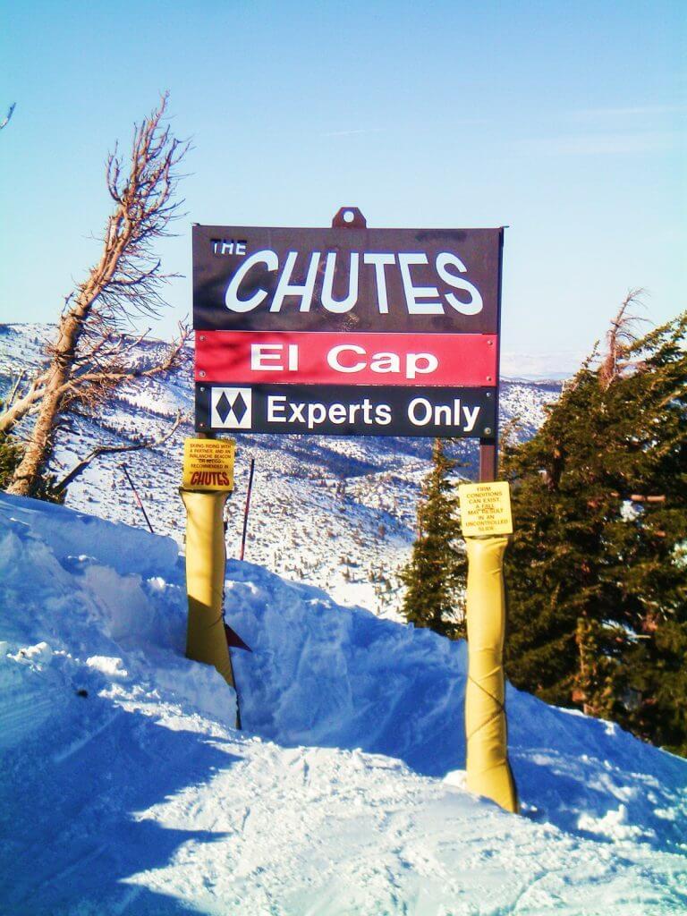Mount Rose - The Chutes El Cap