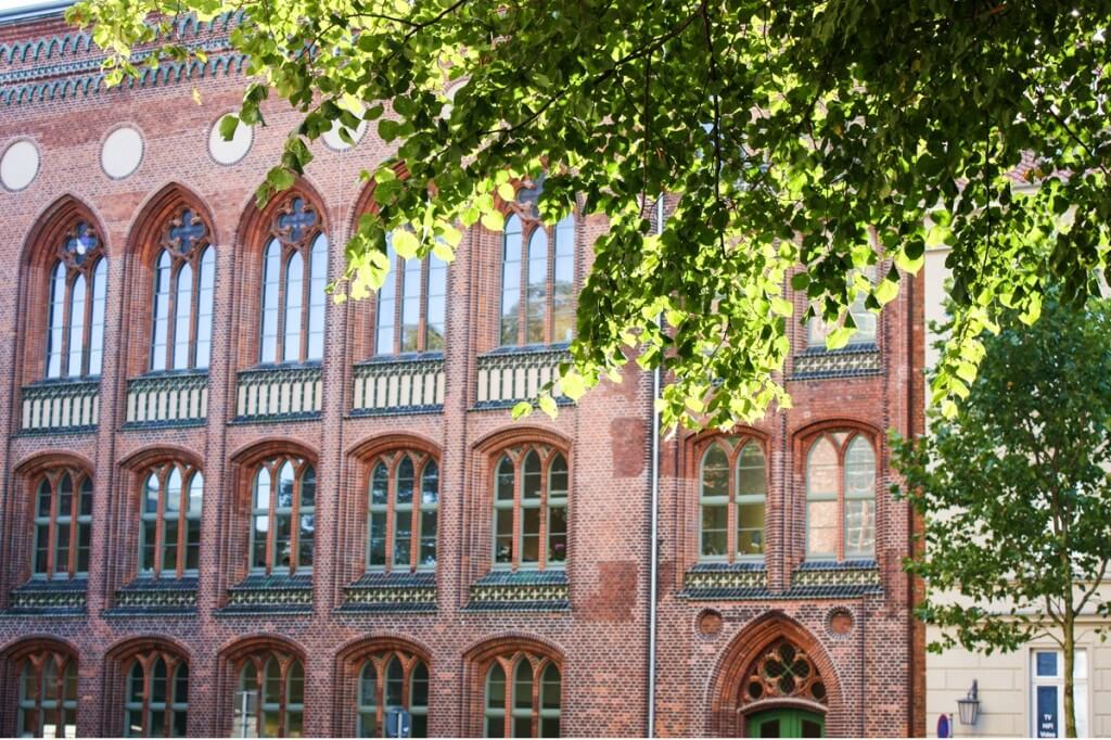 Belongs to the UNESCO world heritage: the brick Gothic in Stralsund