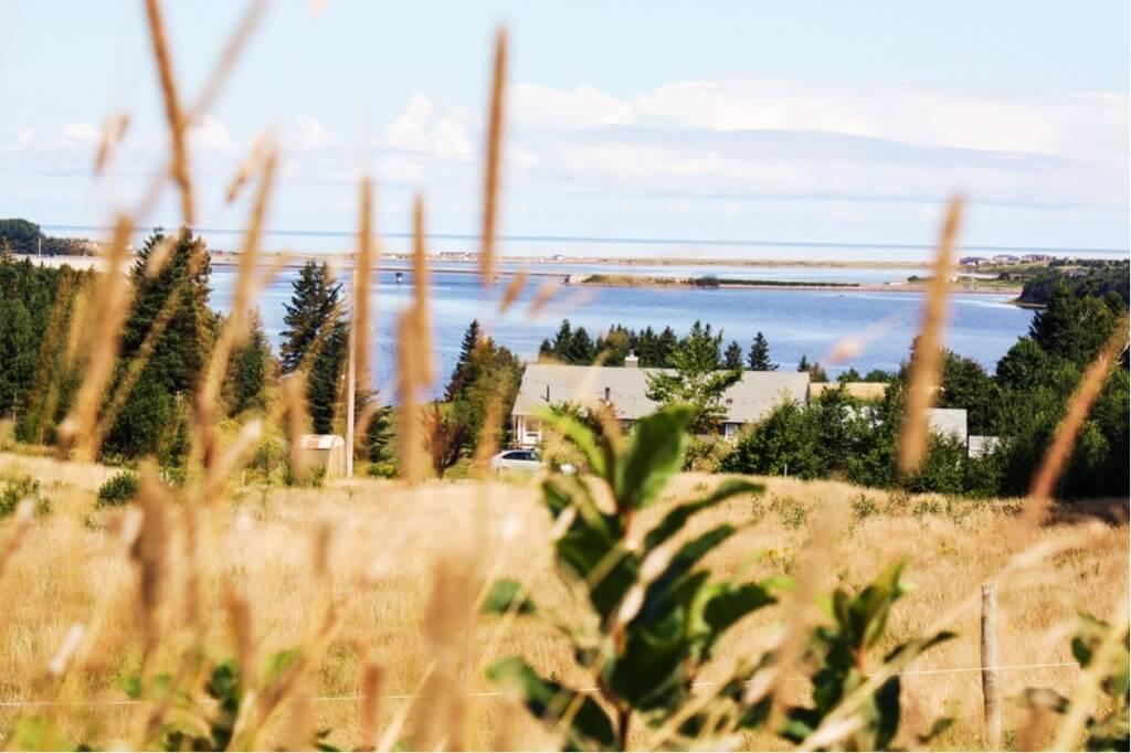 Belle Cote Beach bei Margaree Harbour Hier leben Akadier am Cabot Trail in Cape Breton