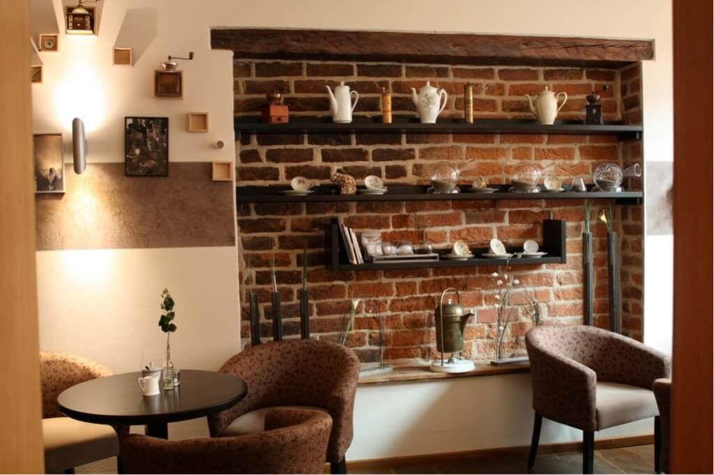 Das Café im Kontor Scheele