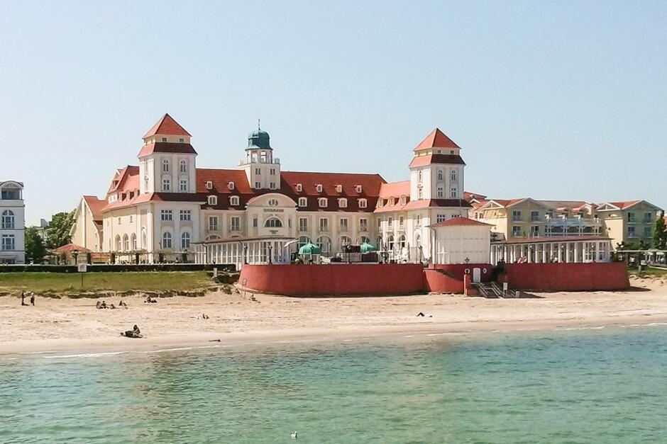 Kurhaus Binz, die Grande Dame der Bäderarchitektur