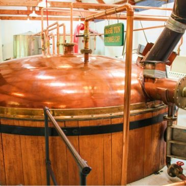The mash-ton of the distillery