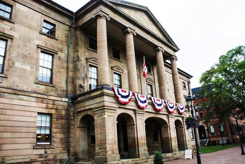 Das Province House in Charlottetown