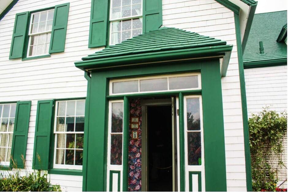Green Gables - Das Haus der Grünen Giebel und fiktives Heim von Anne of Green Gables