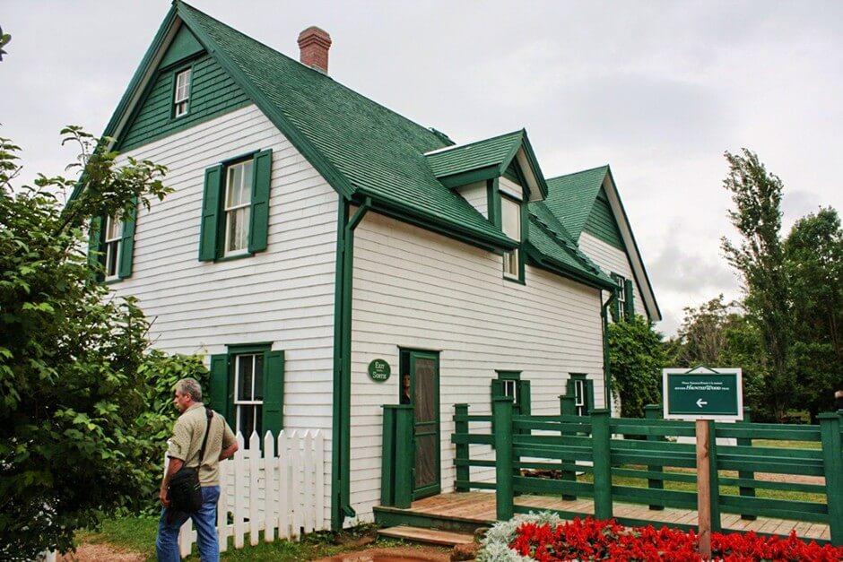 Green Gables - eine der drei Attraktionen an der Nordküste von Prince Edward Island