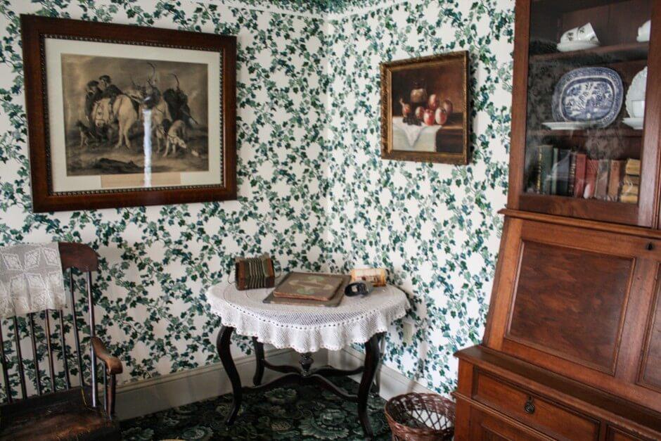 Wohnzimmer in Green Gables