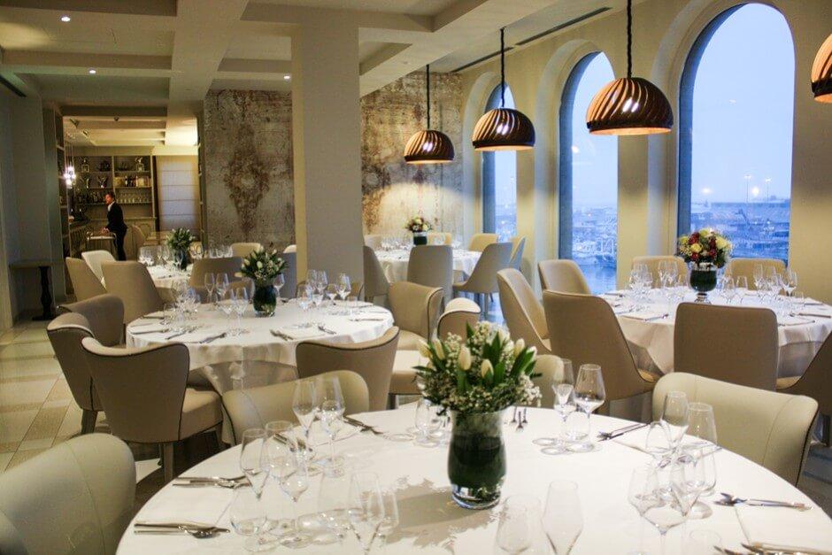 Restaurant im Hotel Seeport in Ancona