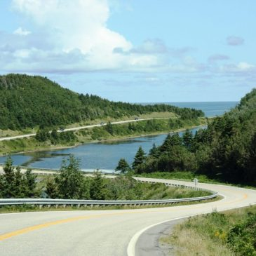 Roadtrip on the Cabot Trail in Canada Copyright Monika Fuchs