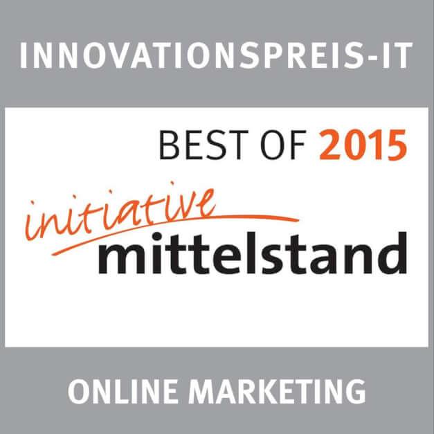 BEST OF 2015 beim Innovationspreis-IT