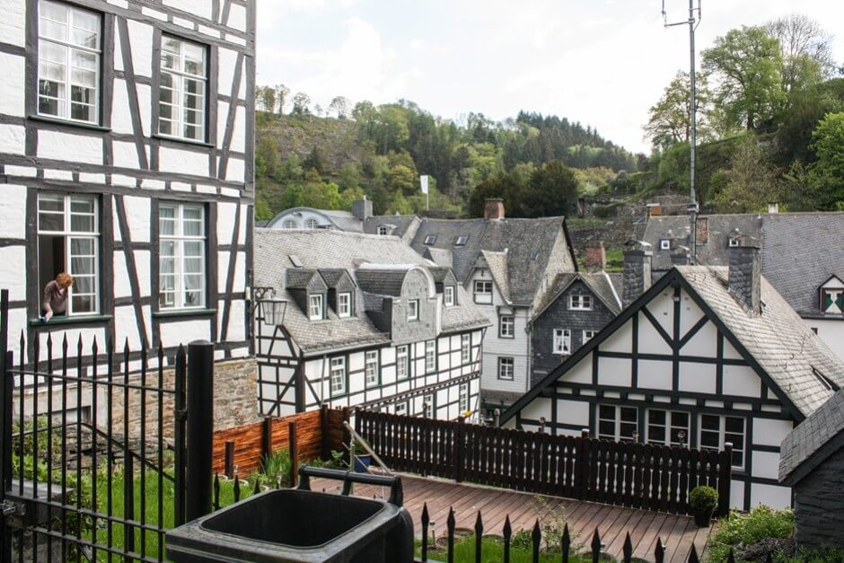 Above the roofs of Monschau