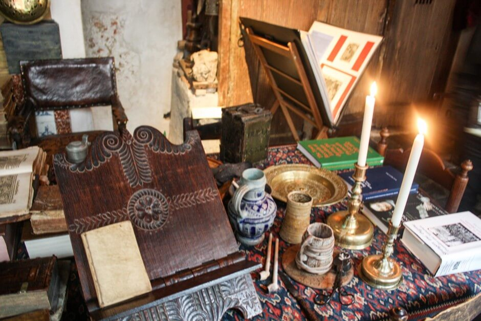 Dokumente zu den Pilgrim Fathers im Museum in Leiden Holland