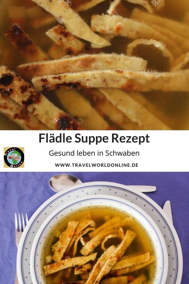 Flädle Suppe Rezept - Gesund essen in Schwaben