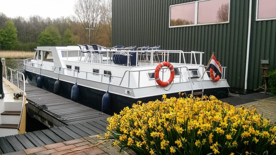 Hausboot in Holland - Unser Olympia Superkreuzer