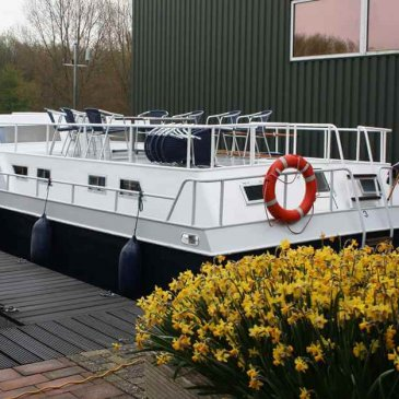 Hausboot in Holland