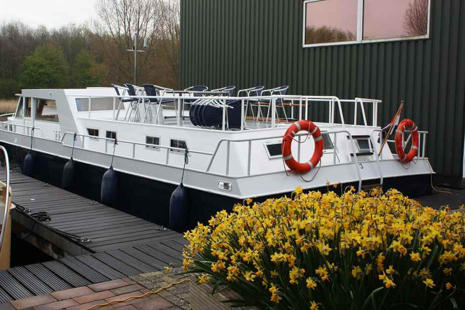 Houseboat in Holland