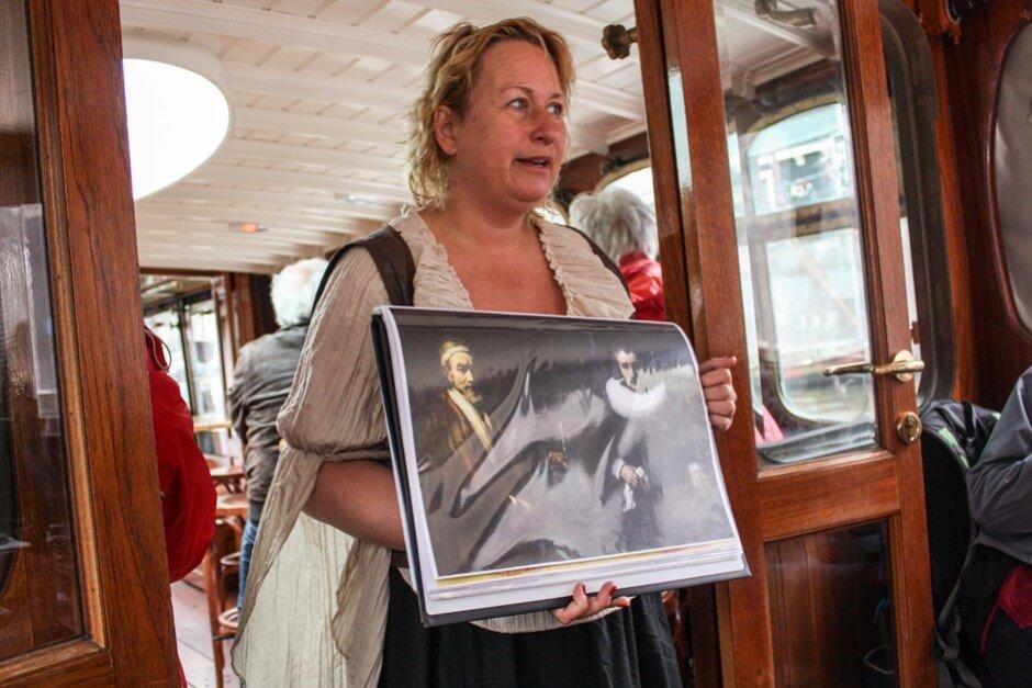 Unterwegs auf der Rembrandt Cruise in Amsterdam