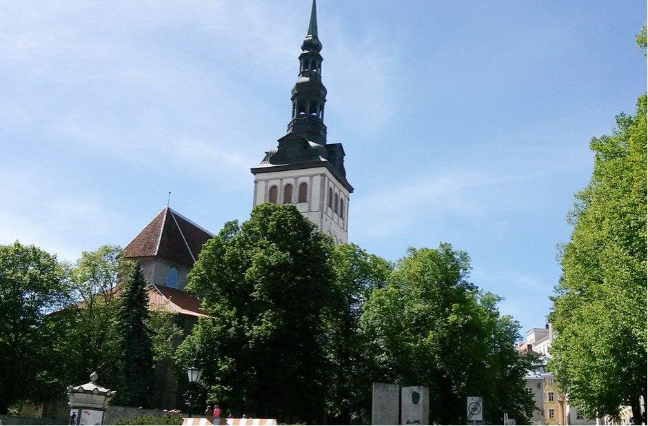 Tallinn Sehenswürdigkeiten - Die St. Nikolaikirche