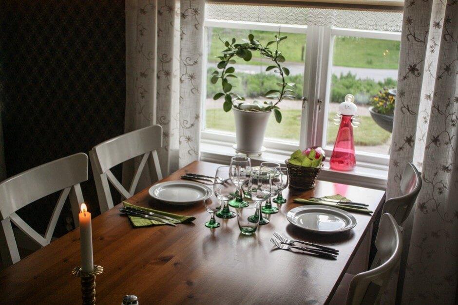 Ein B&B für Gourmets - romantisches Dinner zu Zweit