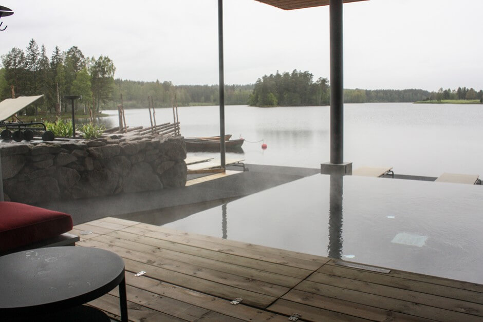 Wellness am See in Hooks Herrgard in Smaland