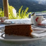 Coffee and cake at the Seehotel Enzian
