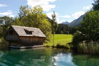 On the south bank of the Weissensee Carinthia